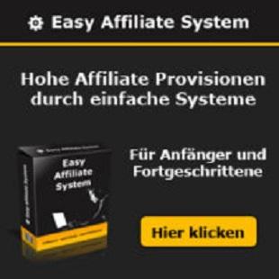 Easy Affiliate System der Profis