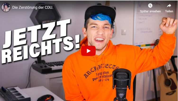 CDU nein Danke Rezo Video