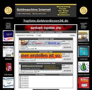 Topliste fuer online Marketer Linkliste
