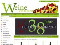 Rotwein und Weisswein aus Frankreich und Italien
