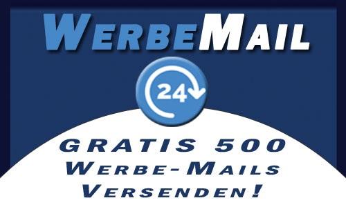 WerbeMail gratis 500 Mails
